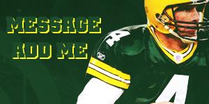 Greenbay Packers - Brett Favre