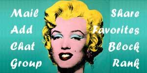 Marilyn Monroe Colorized