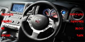 Car Dashboard GT R