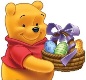 Pooh - Easter Eggs