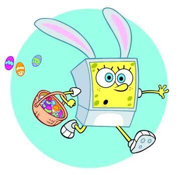 Spongebob easter rabit
