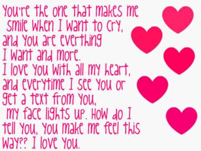 how do I tell u, u make me feel this way