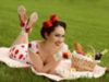 Girl Pin-Up Picnic