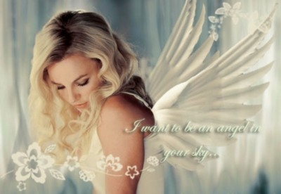 I want to be an angel in your sky...