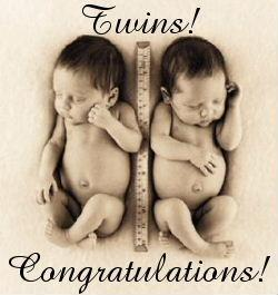 Twins Congratulations
