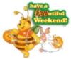 Have a BEEutiful Weekend! Winnie Pooh