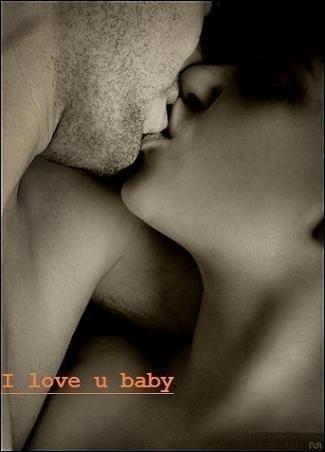 I love u baby Kiss