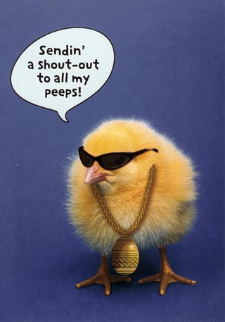 Sendin' A Shout Out To All My Peeps