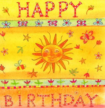 Happy Birthday Sun