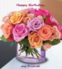 Happy Birthday my Friend! Flowers