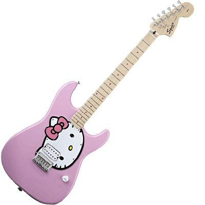 Hello Kitty Pink Guitar