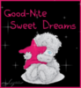 Good night Sweet Dreams Teddy Bear with star