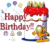 Happy Birthday!! -- Garfield