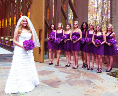 Tiffany Thornton wedding