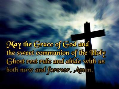 May The Grace Of God