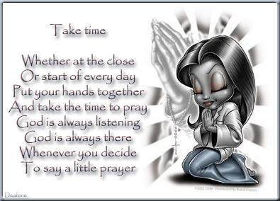 Take Time Little Prayer