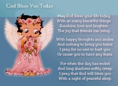 God Bless You Today