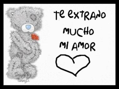 Te Extrano Mucho Mi Amor