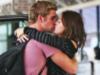 Miley Cyrus & Liam Hemsworth kiss