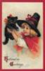 Halloween Greetings Retro card
