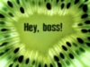 Hey, boss!