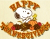 Happy Thanksgiving! Snoopy