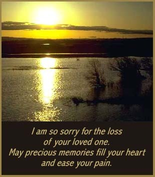 I Am So Sorry For The Loss Of Your Loved One