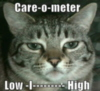LOLCat: Care-o-meter Low -I--------- High