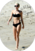 Miley Cyrus shot hair bikini