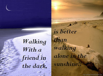 Walking With A Friend