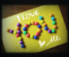 I love you love ME