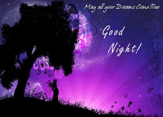 May All your Dreams Come True: Good Night!