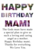 Happy Birthday Mami