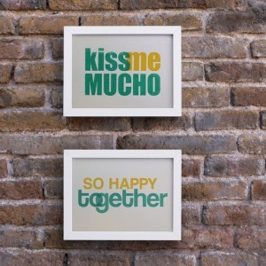 Kiss me mucho So happy toegether