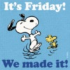 It's Friday! We made it!