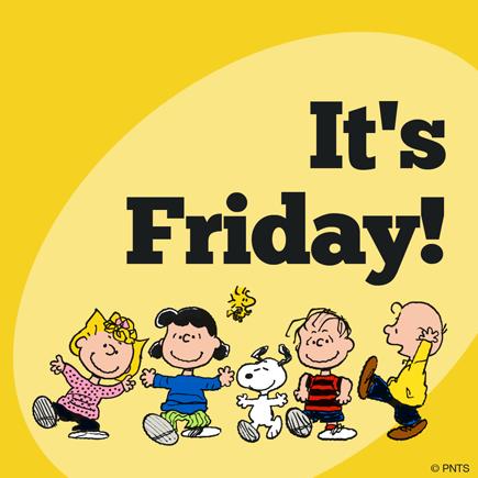 It's Friday!