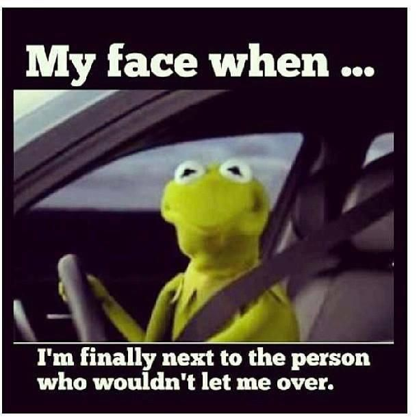 Kermit: my face when...