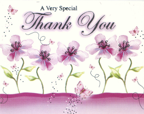 A Very Special Thank You Thank You Myniceprofile Com