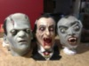 Halloween Scary Heads