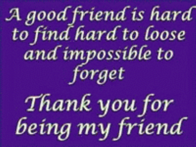 thank you for being my facebook friend  Thank you for being my