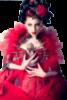 Fantasy Girl in Red