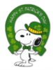 Happy St. Patrick's Day --Snoopy