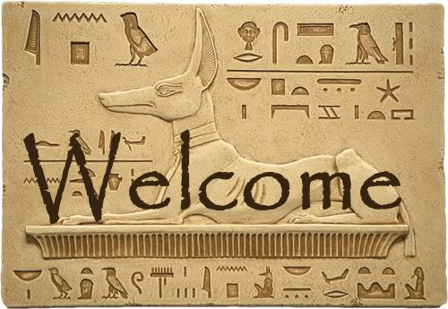 Welcome -- Egyptian style