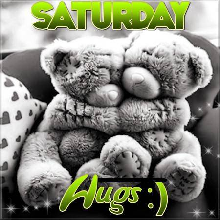 Saturday Hugs :) -- Teddy Bears