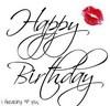 Happy Birthday I freaking love you
