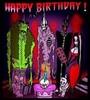 Happy Birthday scary