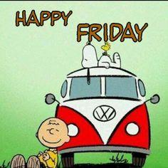 Happy Friday -- Snoopy