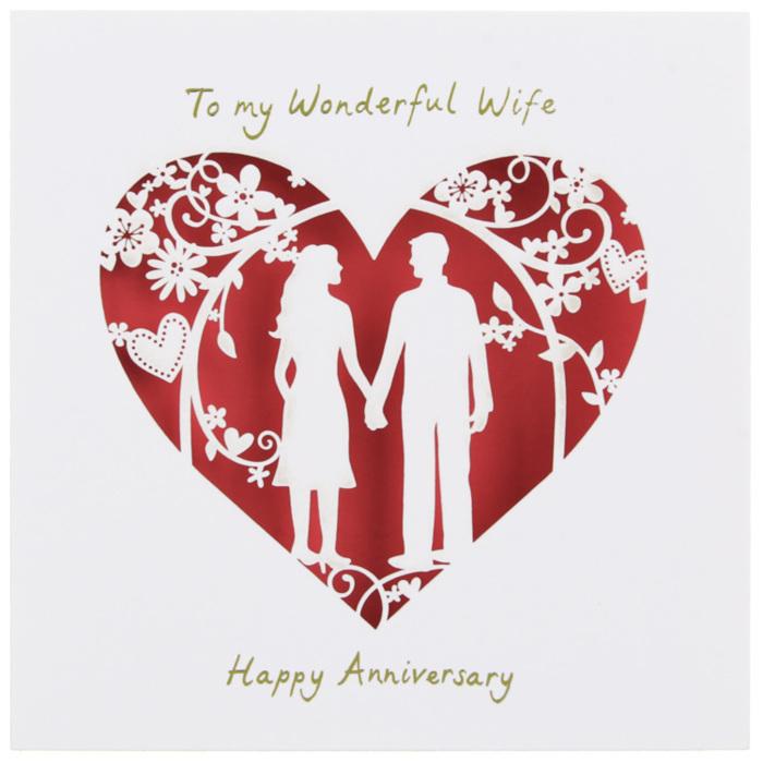 To my Wonderful Wife Happy Anniversary