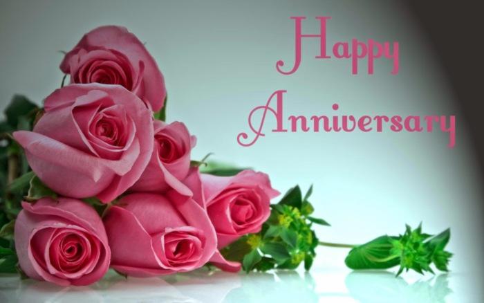 Happy Anniversary -- Flowers
