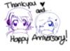 Thank you and...Happy Anniversary!